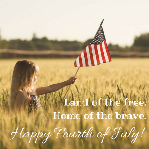 This is the land of the free.